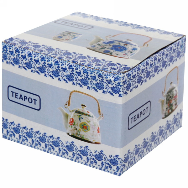 Чайник заварочный керамический 400 мл ″Королевское чаепитие″ 1 купить оптом и в розницу