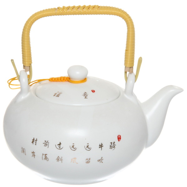Чайник заварочный керамический 400 мл ″Королевское чаепитие″ 3 купить оптом и в розницу