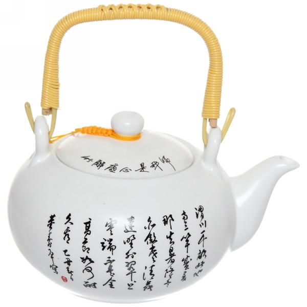Чайник заварочный керамический 400 мл ″Королевское чаепитие″ 4 купить оптом и в розницу