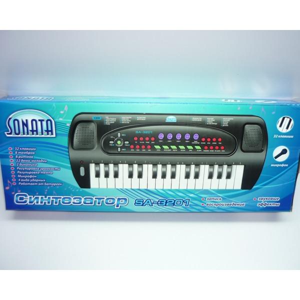 Синтезатор 3201-SA  32 клавиши. купить оптом и в розницу
