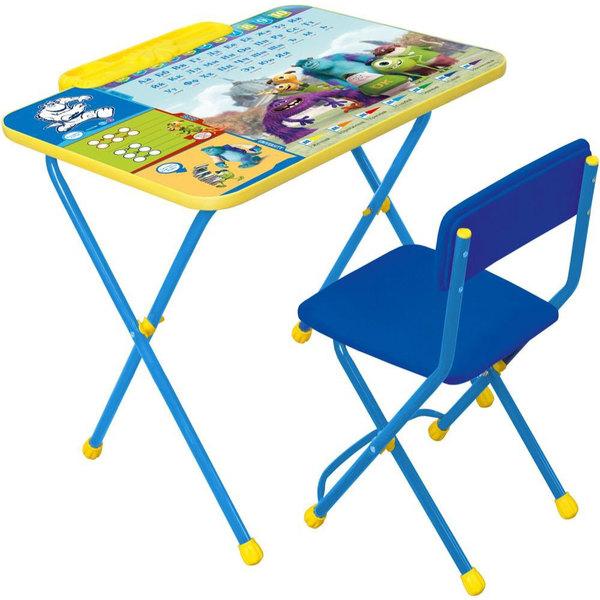 Набор детской мебели ″Дисней.Университет Монстров″ складной, с пеналом, мягкий стул Д2У купить оптом и в розницу