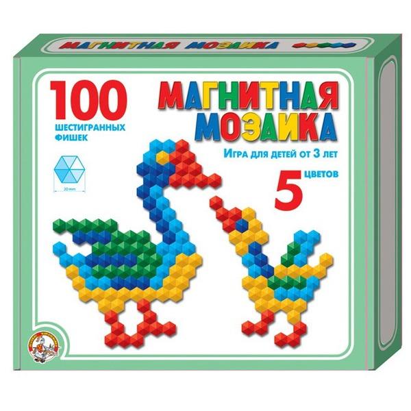 Мозаика магнитная 100 шестигран. 961 /14/ купить оптом и в розницу