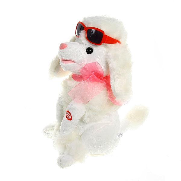 Игрушка мягкая музыкальная ″Собачка в очках″ купить оптом и в розницу