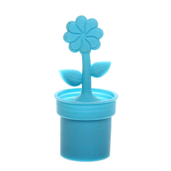 Ситечко для чая силиконовое ″Цветочек в горшочке″ купить оптом и в розницу