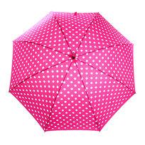 Зонт-трость женский ″Горох″, 8 спиц, d-110см купить оптом и в розницу