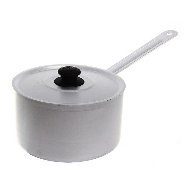 Кастрюля алюминиевая 1,8л с крышкой, с ручкой купить оптом и в розницу