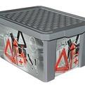 """Ящик дляхранения """"X-BOX"""" Авто 17л *12 купить оптом и в розницу"""