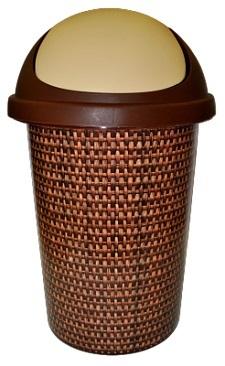 Корзина для мусора 10 л Рогожка*10 купить оптом и в розницу