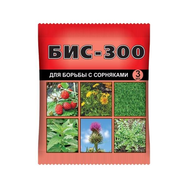 Средство для борьбы с сорняками БИС-300 3 мл. в пакете купить оптом и в розницу