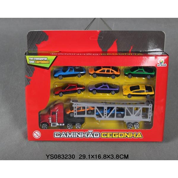 Набор машин металл 2509-МВ Автовоз LITTLE ANT купить оптом и в розницу