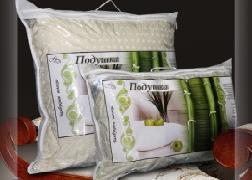 Подушка 70х70 бамбук/тик конверт Миромакс арт.224 купить оптом и в розницу