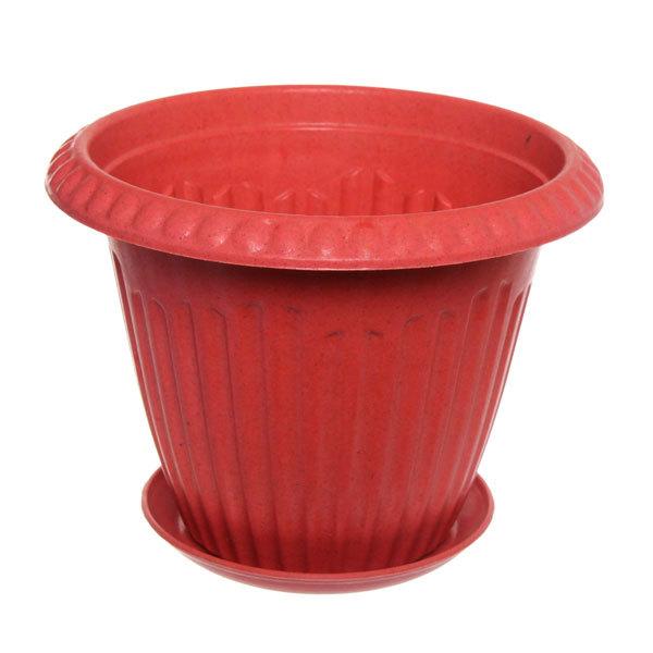 Горшок для цветов ЭКО Антик″ 19*25см SHY-25 розовый купить оптом и в розницу