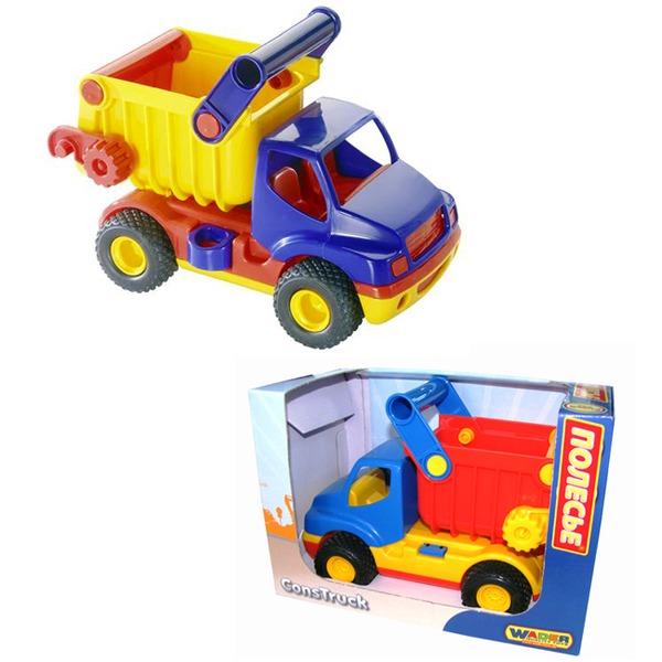 Автомобиль КонсТрак самосвал в кор.  37671 П-Е /6/ купить оптом и в розницу
