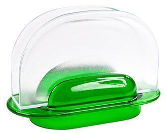 Салфетница  Санти  (зеленый*24 купить оптом и в розницу