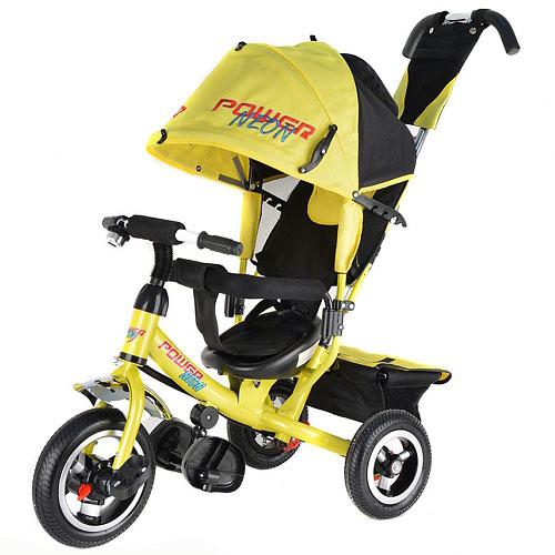Велосипед 3-х Трайк NЕОН JP7NY надув. колеса, желтый СТОПЦЕНА купить оптом и в розницу