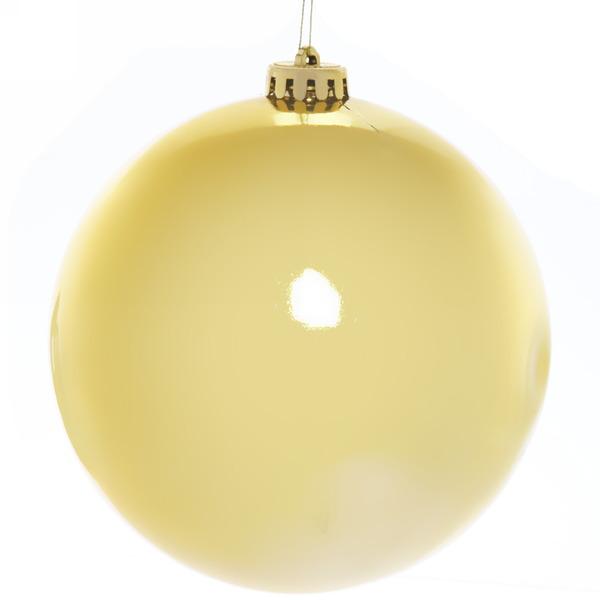Новогодний шар ″Золотая лихорадка″ 15см купить оптом и в розницу