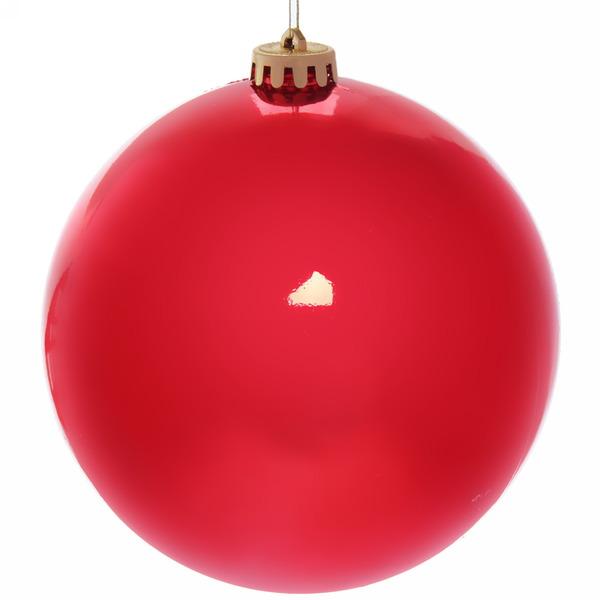 Новогодний шар ″Рубин″ 15см купить оптом и в розницу