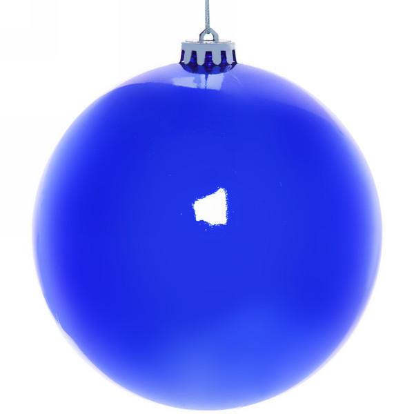 Новогодний шар ″Индиго″ 15см купить оптом и в розницу