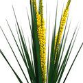 Цветок искусственный 90см ветка Трава с ягодами 3шт 9178-42 купить оптом и в розницу