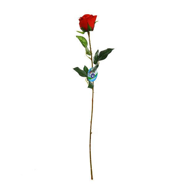 Цветок искусственный 70см декоративный Роза 9178-46 купить оптом и в розницу