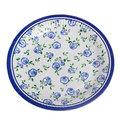 Тарелка бумажная 23 см в наборе 10 шт ″Цветы″ 01 купить оптом и в розницу