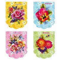 Блокнот 48 л. А7 Цветы для девочек Б48-5059 купить оптом и в розницу