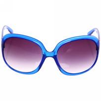 Очки солнцезащитные женские, форма бабочка ″Летняя коллекция 2017″ цвет синий купить оптом и в розницу