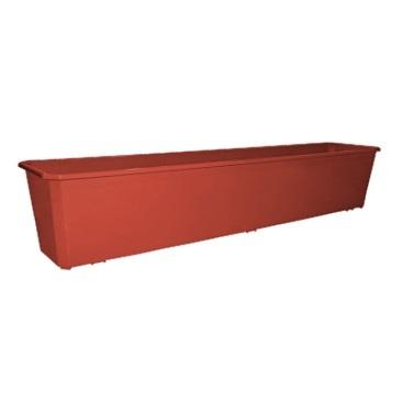 Ящик балконный 80 см терракотовый*20 купить оптом и в розницу