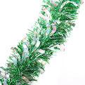 Мишура новогодняя 2 метра 9см ″Снег на Ели″ зеленый купить оптом и в розницу