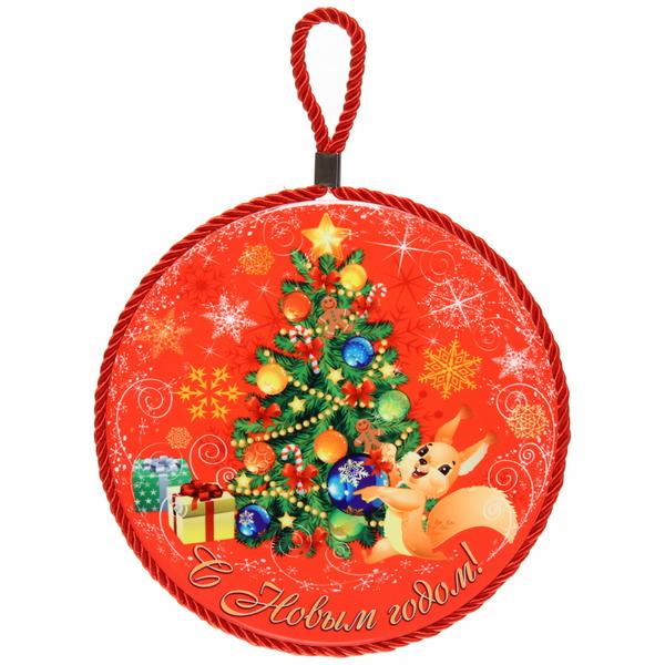 Подставка под горячее керамика 16 см ″С Новым годом!″, Белочка купить оптом и в розницу