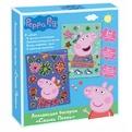 Peppa Pig Набор ДТ Аппликация бисером Пеппа 30467 купить оптом и в розницу