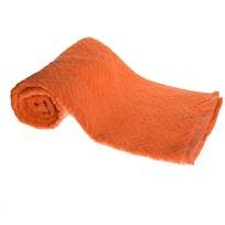 Махровое полотенце 50*100см морковное жаккард ЖК100-2-005-037 купить оптом и в розницу