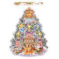 Плакат новогодний 70*55 см Елка Новый Год купить оптом и в розницу