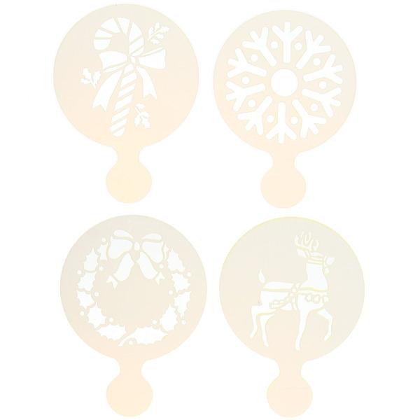 Набор декораторов для выпечки 4шт ″Новогодний″ купить оптом и в розницу