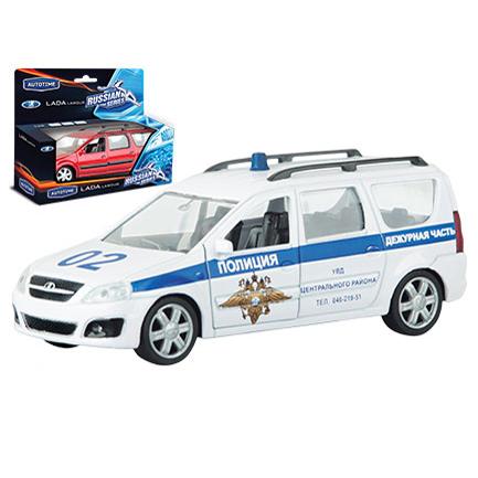 Модель LADA LARGUS Полиция 1:38 49481 купить оптом и в розницу