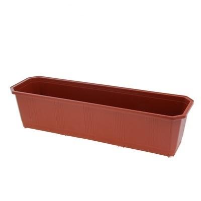 Ящик балконный 40 см терракотовый  *20 купить оптом и в розницу