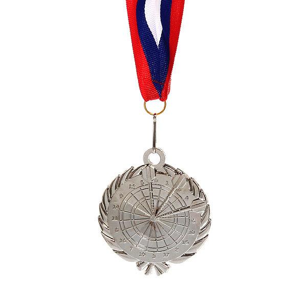Медаль ″Дартс″ - 2 место (6см) 248 купить оптом и в розницу