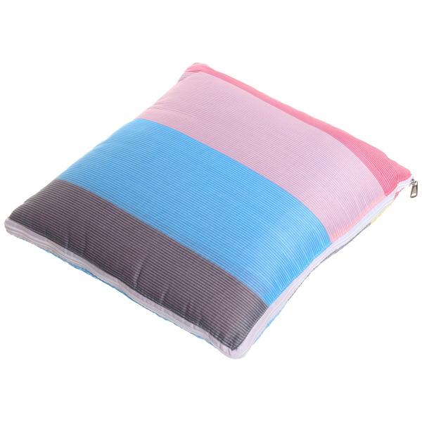 Подушка-одеяло автомобильная, принтованная, смесовая ткань, размер одеяла 100*150см купить оптом и в розницу