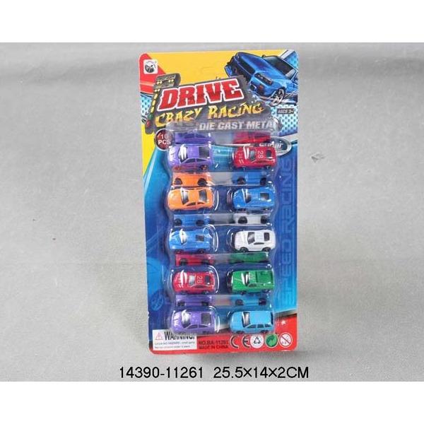 Набор машин металл 11261-ВА 10 шт. LITTLE ANT купить оптом и в розницу