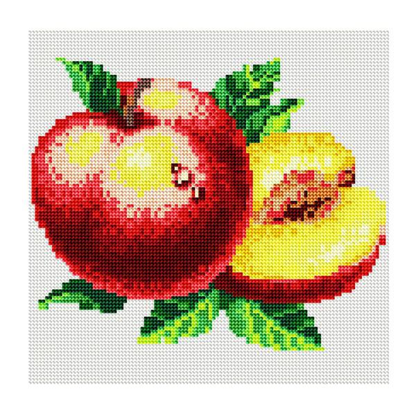 Набор ДТ Картина стразами Спелый персик DL001 купить оптом и в розницу