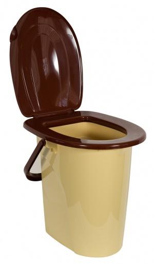 Ведро-туалет с крышкой 22 л 1/10 купить оптом и в розницу