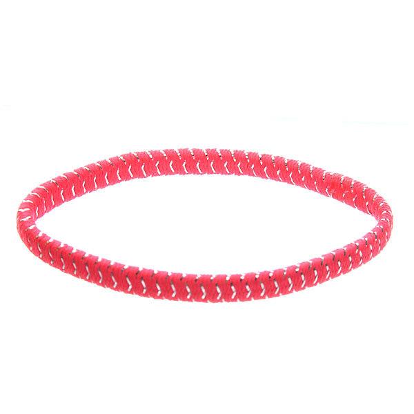 Резинка для волос 23шт ″Леденец″, цвет розовый h-17см купить оптом и в розницу