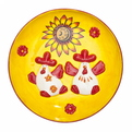Тарелка керамическая ″Русские узоры″ 16см купить оптом и в розницу