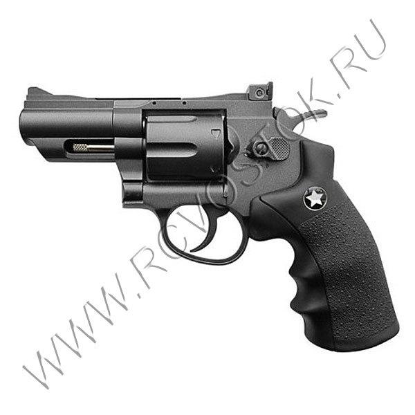 Револьвер пневматический BORNER Sport 708 (Smith&Wesson) купить оптом и в розницу