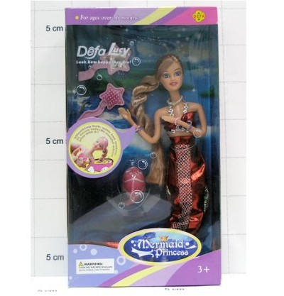 Кукла 20983 Прекрасная Ундина с аксесс. в кор. Defa Lusy купить оптом и в розницу