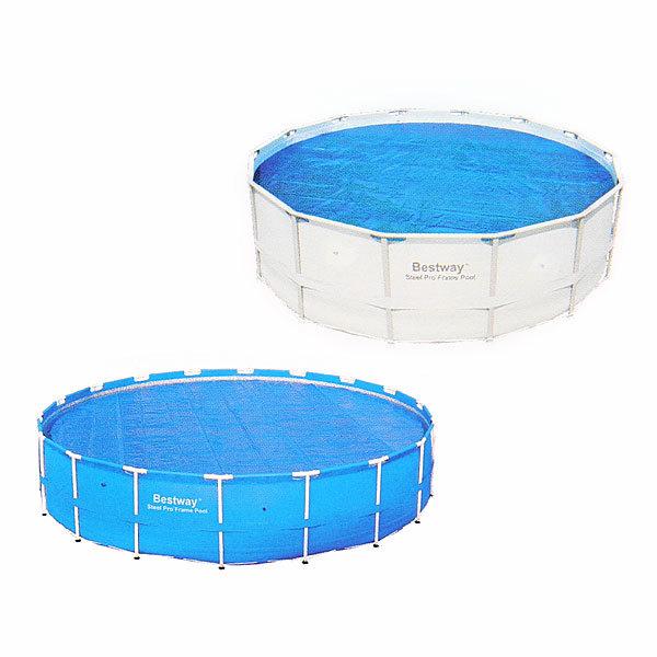 Чехол для круглых каркасных бассейнов 305 см с нагревающим эффектом Bestway (58241) купить оптом и в розницу
