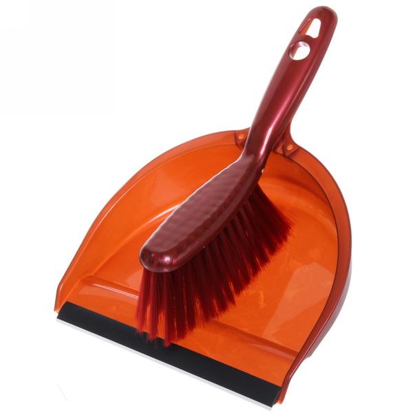 Набор для уборки, щетка-сметка и совок для мусора 29х21см 331 купить оптом и в розницу