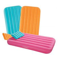 Матрас надувной детский Cozy Kids с подушкой,157*88*18 см,Intex (66801) купить оптом и в розницу