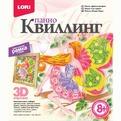 Набор ДТ Квиллинг Панно Цветочная фея Квл-019 Lori купить оптом и в розницу