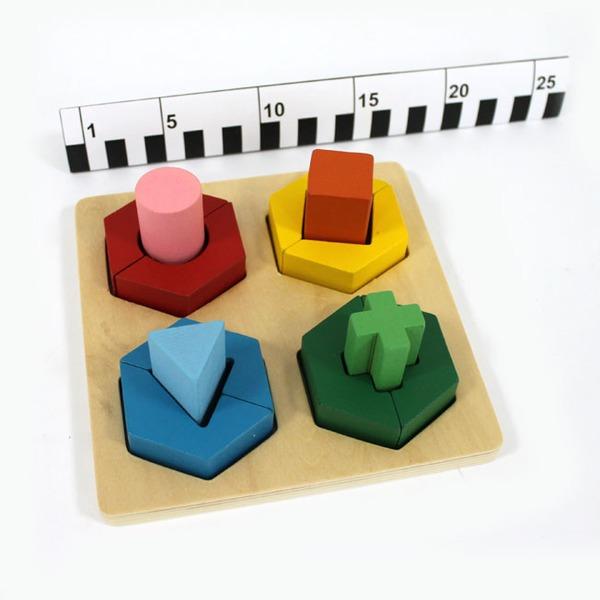 Дер. Логич. игрушка Сортер 141-815G купить оптом и в розницу